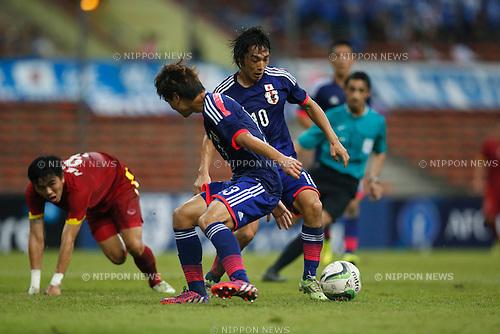 Shoya Nakajima (JPN), MARCH 29, 2015 - Football / Soccer : AFC U-23 Championship 2016 Qualification Group I match between U-22 Japan - U-22 Vietnam at Shah Alam Stadium in Shah Alam, Malaysia. (Photo by Sho Tamura/AFLO SPORT)