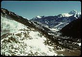 Marshall Pass area.<br /> D&amp;RGW  Marshall Pass, CO