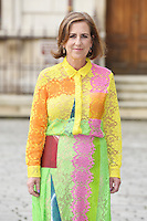 Kirsty Wark arrives for the VIP preview of the Royal Academy of Arts Summer Exhibition 2016
