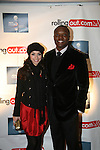 Jessica Caban and Kwame Jackson attends the Gillette Fusion Men of Style Awards at The 40/40 Club, NY November 2, 2009, Photos by Derrick Salters