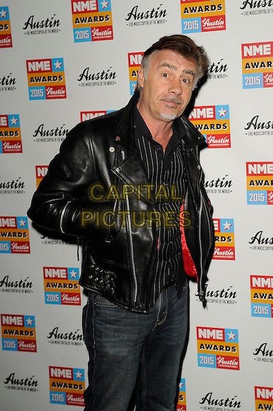 LONDON, ENGLAND - FEBRUARY 18: Glen Matlock attending the NME Awards at Brixton Academy on February 18 2015 in London, England.<br /> CAP/MAR<br /> &copy; Martin Harris/Capital Pictures