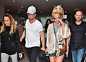 Britney Spears arrives at Narita Airport in Japan
