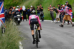 Foto Fabio Ferrari - LaPresse <br /> 22/05/2018 Trento-Rovereto (Italia)<br /> Sport Ciclismo<br /> Giro d'Italia 2018 - edizione 101-  tappa 16<br /> TRENTO - ROVERETO (ITT)<br /> Nella foto: YATES Simon Philip (GBR) (MITCHELTON - SCOTT) maglia rosa<br /> <br /> Photo Fabio Ferrari - LaPresse<br /> May 22, 2018  Trento-Rovereto(Italy)  <br /> Sport Cycling<br /> Giro d'Italia 2018 - 101th edition -  stage 16<br /> TRENTO - ROVERETO (ITT)<br /> In the pic: YATES Simon Philip (GBR) (MITCHELTON - SCOTT) pink jersey
