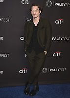 "HOLLYWOOD, CA - MARCH 25:  Charlie Heaton at PaleyFest 2018 - ""Stranger Things"" at the Dolby Theatre on March 25, 2018 in Hollywood, California. (Photo by Scott KirklandPictureGroup)"
