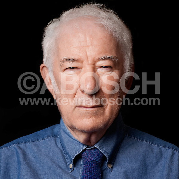 Portrait of Nobel Prize winning poet Seamus Heaney photographed by Kevin Abosch