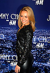 WEST HOLLYWOOD, CA. - November 02: Hayden Panettiere arrives at Jimmy Choo For H&M at a private residence on November 2, 2009 in West Hollywood, California.. .