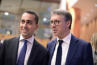 Roma, 31 Maggio 2017<br /> Luigi Di Maio e Raffaele Cantone.<br /> Convegno del Movimento 5 Stelle sulla Giustizia: Questioni e visioni di Giustizia- Prospettive di riforma