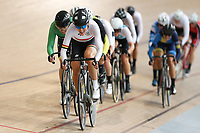 Rushlee Buchanan of Waikato BOP competes in the Elite Women Omnium 1, Scratch Race 7.5km,  at the Age Group Track National Championships, Avantidrome, Home of Cycling, Cambridge, New Zealand, Sunday, March 19, 2017. Mandatory Credit: © Dianne Manson/CyclingNZ  **NO ARCHIVING**