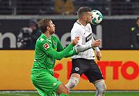 Ante Rebic (Eintracht Frankfurt) gegen Christoph Kramer (Borussia Mönchengladbach) - 26.01.2018: Eintracht Frankfurt vs. Borussia Moenchengladbach, Commerzbank Arena