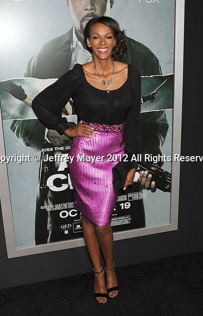 HOLLYWOOD, CA - OCTOBER 15: Judith Shekoni arrives at the Los Angeles premiere of 'Alex Cross' at the ArcLight Cinemas Cinerama Dome on October 15, 2012 in Hollywood, California.