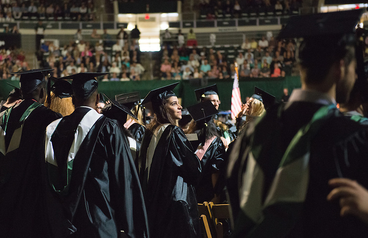 Graduate Commencement. Photo by Ben Siegel
