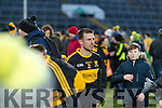 John Payne Dr. Crokes players and supporters celebrate defeating Corofin in the Semi Final of the Senior Football Club Championship at the Gaelic Grounds, Limerick on Saturday.