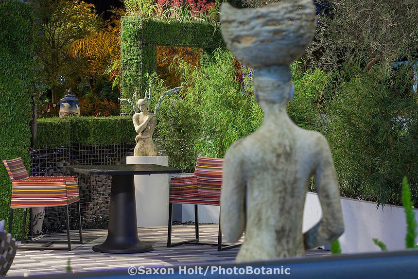 """Room is a Garden - Garden is a Room"" - garden design by Iftikhar Ahmed; San Francisco Flower and Garden Show 2015"