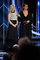 Amy Poehler and Maya Rudolph present at the 76th Annual Golden Globe Awards at the Beverly Hilton in Beverly Hills, CA on Sunday, January 6, 2019.<br /> *Editorial Use Only*<br /> CAP/PLF/HFPA<br /> Image supplied by Capital Pictures