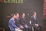 Foto LaPresse -Stefano De Grandis<br /> 29/11/2017  Milano ( italy )<br /> <br /> presentazione giro d'Italia<br /> workshop<br /> <br /> nella foto: Tom Dumoulin, Fabio Aru, Vincenzo Nibali, e Alberto Contador<br /> <br /> <br /> <br /> <br /> Foto LaPresse -Stefano De Grandis<br /> 29/11/2017  Milano ( italy )<br /> <br /> Giro D'Italia 2018 presentation<br /> <br /> in the pic: Tom Dumoulin, Fabio Aru, Vincenzo Nibali, e Alberto Contador