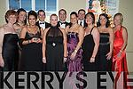 Enjoying the New Years Eve ball in The Malton hotel, Killarney were Avril O'Shea, Siobhan O'Shea, June Curley, Kieran Reid, Mandy Wilson, Damien Reid, Emer O'Flaherty, Pamela and Padraig Teahan, Melanie Cruise and Maria Dooner, Tralee.