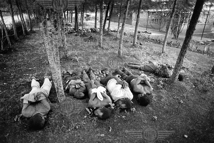 Victims of a massacre, during the 1994 genocide.