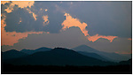 Darkness falls over the Smoky Mountains