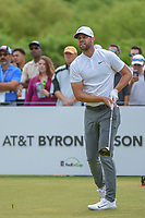 Kevin Tway (USA) watches his tee shot on 1 during round 4 of the AT&T Byron Nelson, Trinity Forest Golf Club, at Dallas, Texas, USA. 5/20/2018.<br /> Picture: Golffile | Ken Murray<br /> <br /> All photo usage must carry mandatory copyright credit (© Golffile | Ken Murray)