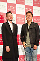 "November, 21st : Tokyo, Japan – Japanese actor Joe Odagiri and Korean director Je-Kyu Kang appear at a press conference for  the film ""MY WAY"" in the Shinjuku WALD9 CINEMA. This story is based on a true story during the World War Ⅱ. Joe Odagiri (Japan) and Dong-Gun Jang (Korea) play in the movie as main characters. This film will be released from January14th. (Photo by Yumeto Yamazaki/AFLO)"