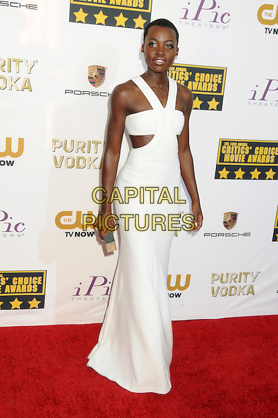 LOS ANGELES, CA - JANUARY 16 - Lupita Nyong'o. 19th Annual Critics' Choice Movie Awards held at Barker Hangar.<br /> CAP/ADM/BP<br /> &copy;Byron Purvis/AdMedia/Capital Pictures