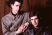 Apr 15, 1987: OMD - Photosession in Leicester UK