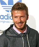 David Beckham at the launch of the adidas Originals by Originals David Beckham on Melrose Avenue in Los Angeles, California on September 30,2009                                                                   Copyright 2009 DVS / RockinExposures