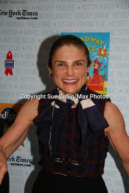 "Tovah Feldshuh - AMC - ATWT and Ryan's Hope at Broadway Barks 11 - a ""Pawpular"" star-studded dog and cat adopt-a-thon on July 11, 2009 in Shubert Alley, New York City, NY. (Photo by Sue Coflin/Max Photos)"