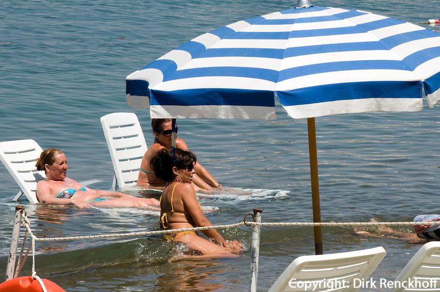 Italien, Ischia, Strand von Lacco Ameno