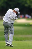 Bob Sowards (USA) tees off the 2nd tee during Thursday's Round 1 of the 2014 PGA Championship held at the Valhalla Club, Louisville, Kentucky.: Picture Eoin Clarke, www.golffile.ie: 6th August 2014