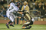 Torrance, CA 10/25/13 - Lance Brown (Palos Verdes #7) and Kurtis Guelff (West Torrance #7)