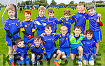 The Ballymac U8/10 team taking part in the Siobhan Cotter Memorial underage Blitz in Churchill on Sunday.