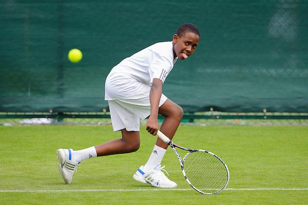 Lefteris Ngugi<br /> Road To Wimbledon 2013