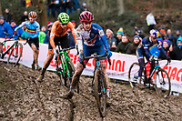 Picture by Alex Whitehead/SWpix.com - 03/02/2018 - Cycling - 2018 UCI Cyclo-Cross World Championships - Valkenburg, The Netherlands - Great Britain's Beth Crumpton in action during the Elite Women's race.