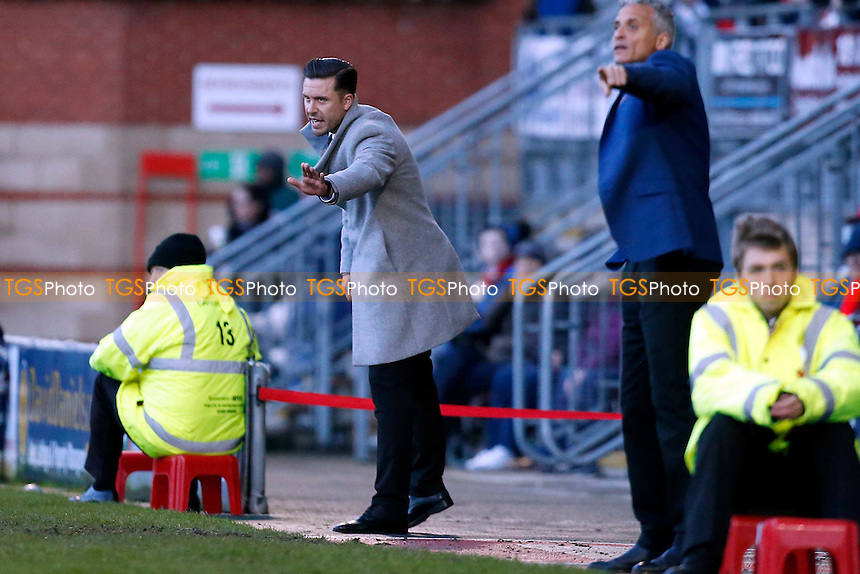 O's manager Danny Webb during Leyton Orient vs Carlisle United, Sky Bet EFL League 2 Football at the Matchroom Stadium on 4th February 2017
