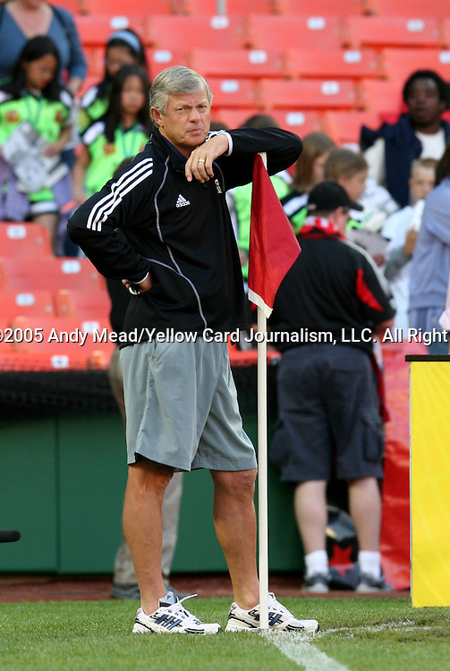 21 May 2005: Wizards head coach Bob Gansler. DC United defeated the Kansas City Wizards 3-2 at RFK Stadium in Washington, DC in a regular season Major League Soccer game. . .