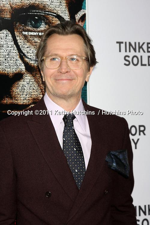 "LOS ANGELES - DEC 6:  Gary Oldman arrives at the ""Tinker Tailor Soldier Spy"" LA Screening at ArcLight Cinemas on December 6, 2011 in Los Angeles, CA"