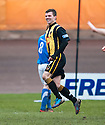 Berwick's Fraser McLaren celebrates after he scores their and his second goal.