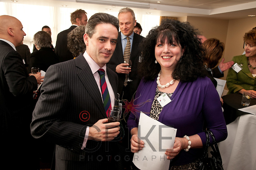 Tom Waldron-Lynch, general manager of the Park Plaza and Joanne Hilal of PA by the Day