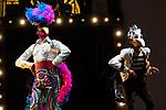 Artists Fernando Soto (L) and Tomasito during the performance of Chufla. September 25, 2019. (ALTERPHOTOS/Johana Hernandez)
