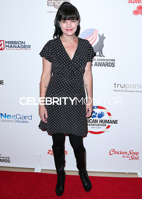 BEVERLY HILLS, CA, USA - SEPTEMBER 27: Pauley Perrette arrives at the 4th Annual American Humane Association Hero Dog Awards held at the Beverly Hilton Hotel on September 27, 2014 in Beverly Hills, California, United States. (Photo by Xavier Collin/Celebrity Monitor)