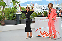 """CANNES, FRANCE. May 21, 2019: Fanny Ardant & Doria Tillier at the photocall for """"La Belle Epoque"""" at the 72nd Festival de Cannes.<br /> Picture: Paul Smith / Featureflash"""