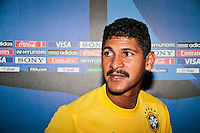 RAVENNA, ITALIA, 10 DE SETEMBRO 2011 - MUNDIAL BEACH SOCCER / BRASIL X PORTUGAL - Andre jogador do Brasil, durante a partida contra Portugal , válida pela semi-final do Mundial de Futebol de Areiano Estádio Del Mare, em Ravenna, na Itália, neste sábado (10).FOTO: VANESSA CARVALHO - NEWS FREE