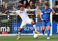 Chris Bush of Bromley in action during Bromley vs Chesterfield, Vanarama National League Football at the H2T Group Stadium on 7th September 2019