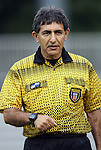 15 September 2011: Match Referee Abbas Piran. The Duke University Blue Devils defeated the College of Charleston Cougars 3-0 at Koskinen Stadium in Durham, North Carolina in an NCAA Division I Women's Soccer game.