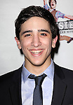 Jess LeProtto.attending the 'NEWSIES' Opening Night after Party at the Nederlander Theatre in New York on 3/29/2012