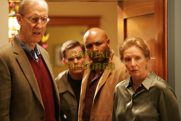 JAMES CROMWELL, MATTHEW ST. PATRICK, MICHAEL C. HALL & FRANCES CONROY.in Six Feet Under.Year 5.*Editorial Use Only*.www.capitalpictures.com.sales@capitalpictures.com.Supplied by Capital Pictures.
