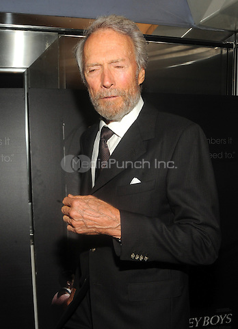 New York, NY- June 9: Clint Eastwood attends the 'Jersey Boys' Special Screening at the Paris Theater on June 9, 2014 in New York City. Credit: John Palmer/MediaPunch