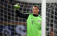 USSBALL   1. BUNDESLIGA    SAISON 2012/2013    10. Spieltag   Hamburger SV - FC Bayern Muenchen                    03.11.2012 Torwart Manuel Neuer (FC Bayern Muenchen)