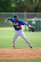 New York Mets Jean Rodriguez (39) during a minor league Spring Training game against the St. Louis Cardinals on March 31, 2016 at Roger Dean Sports Complex in Jupiter, Florida.  (Mike Janes/Four Seam Images)